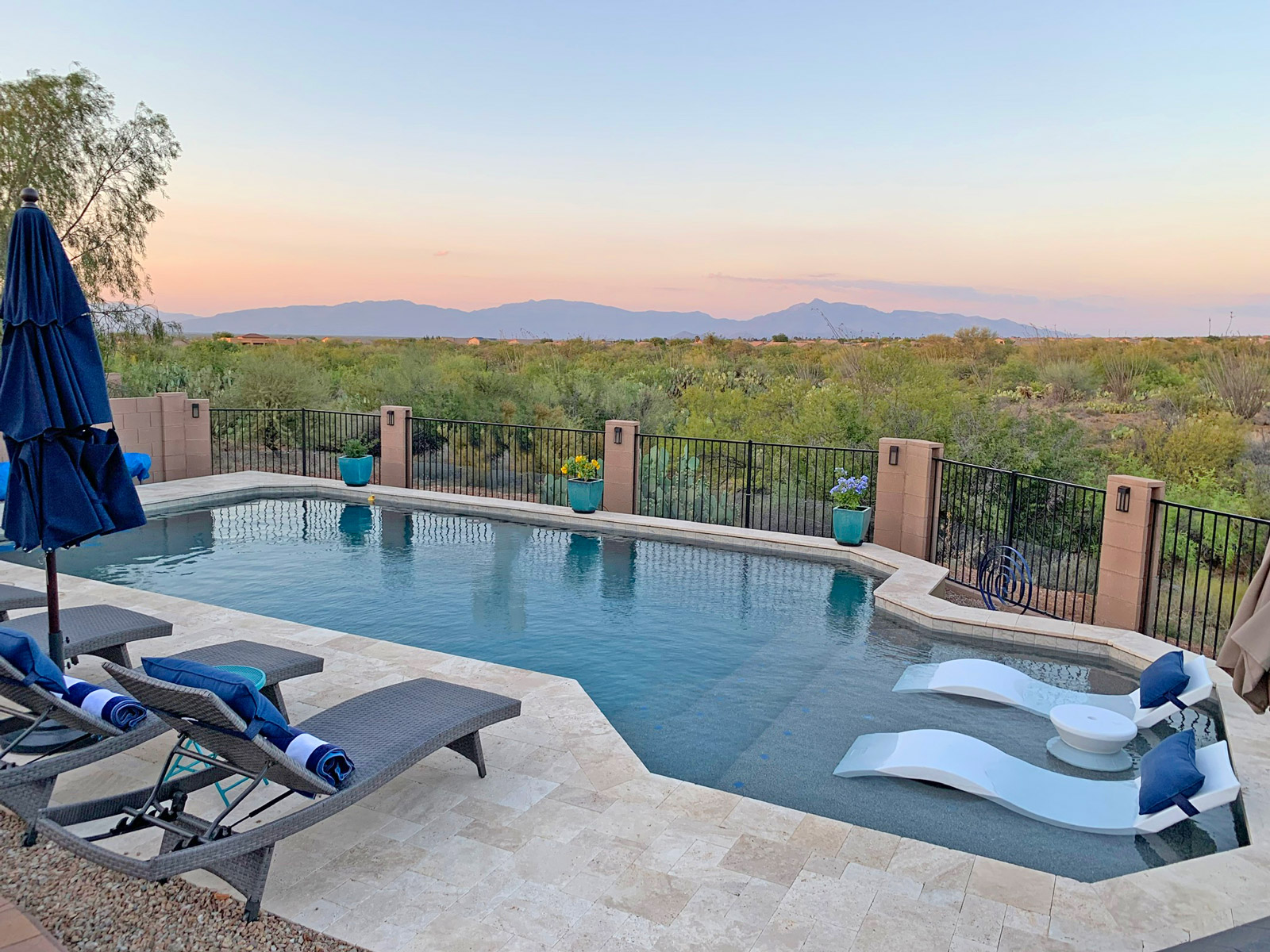 custom tucson swimming pool installer
