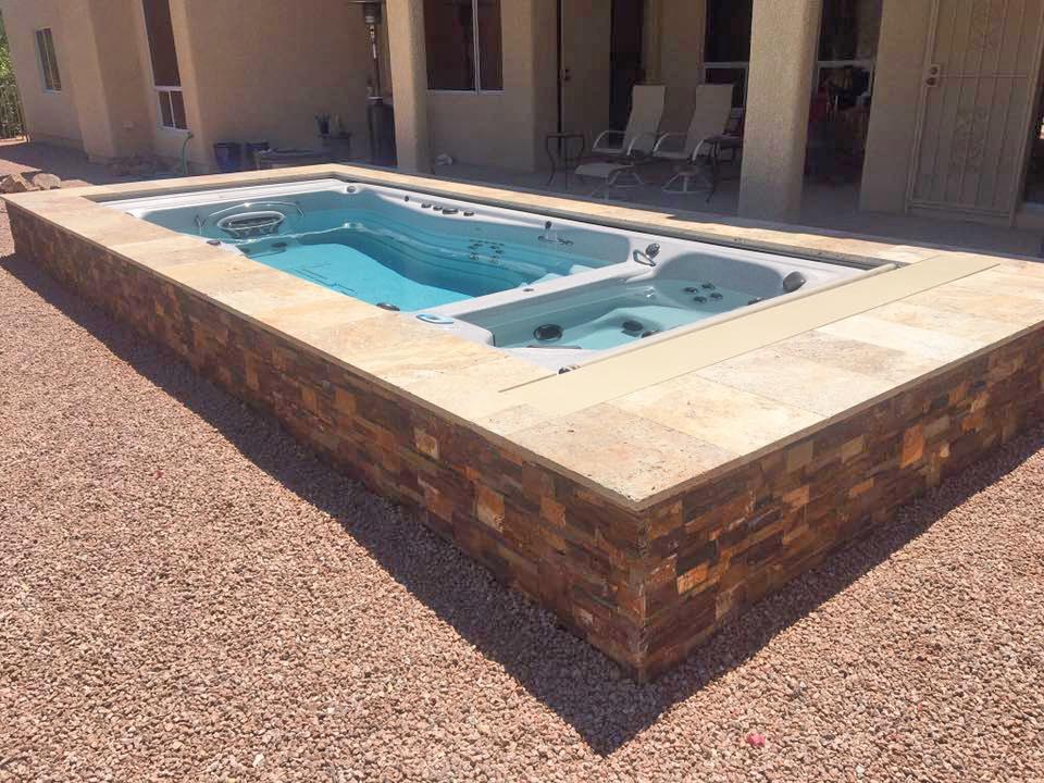 Swim Spas By Pleasure Pools Amp Spas Tucson Vail Amp Oro
