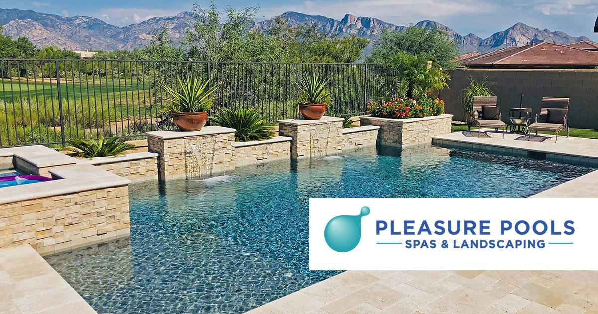 Pleasure Pools Spas Custom Swimming Pools Tucson Arizona